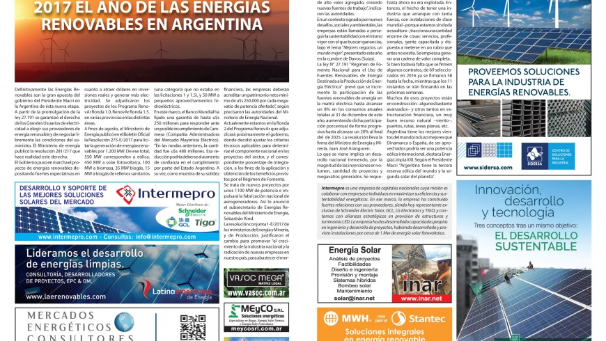 Intermepro en Revista Pymes Clarín