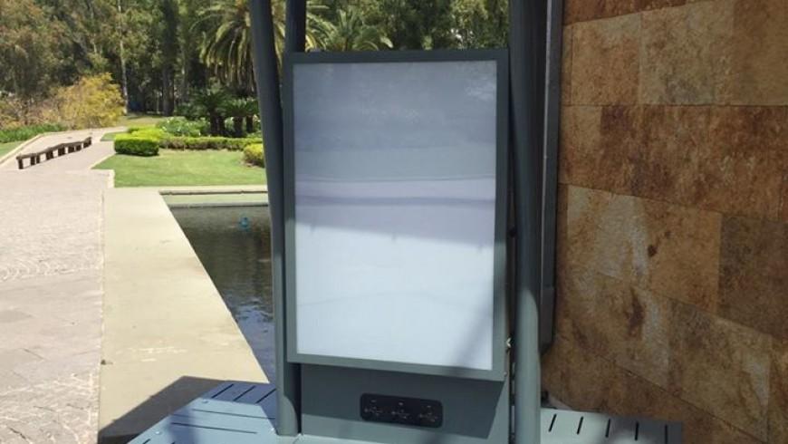 Mobiliario Urbano Solar, desarrollado por Intermepro en Sofitel Cardales para el evento Dealers de LG.