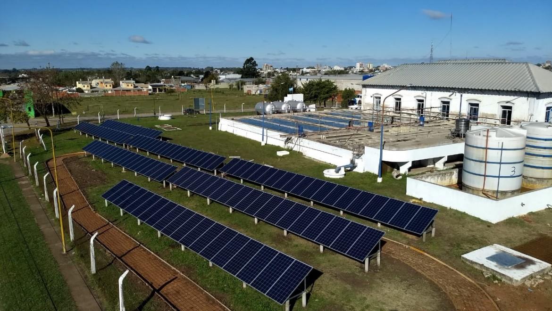 Parque Solar Municipalidad de Gualeguaychu