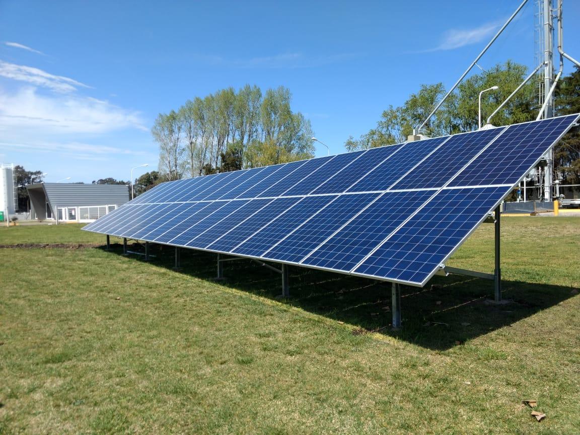 Instalacion Energia FV en YPF en Saladillo, Buenos Aires